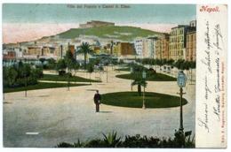 15026 Napoli - Villa Del Popolo E Castel Sant'Elmo F001 - Napoli (Naples)