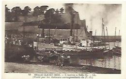 Belle Ile En Mer Arrivée Du Bateau à Belle Ile - Belle Ile En Mer