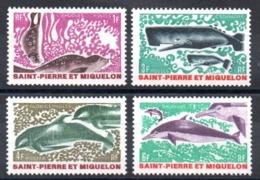 S.P.M. - YT N° 391 à 394 - Neufs ** - MNH - Cote: 21,80 € - St.Pierre & Miquelon