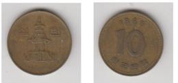 10 WON 1985 - Korea (Zuid)