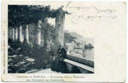 15042 Napoli - Panorama Della Terrazza Del Convento Dei Cappuccini R001 - Napoli