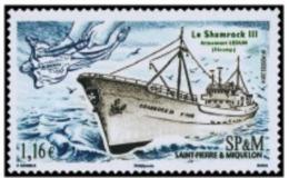 """SPM YT 1099 """" Chalutier, Le Shamrock """" 2014 Neuf** - Ongebruikt"""