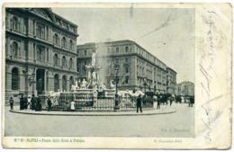 15045 Napoli - Piazza Della Borsa E Fontana R001 - Napoli
