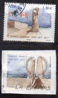 FRANCE 2017 N° 5136/37  OBL - Used Stamps
