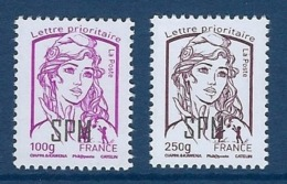 "SPM YT 1101 & 1102 "" Marianne De Ciappa & Kawena "" 2014 Neuf** - St.Pierre & Miquelon"