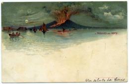 15052 Napoli - Il Vesuvio Nel 1872 F001 - Napoli