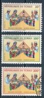°°° CIAD TCHAD - Y&T N°526/30 - 1991 °°° - Ciad (1960-...)
