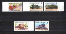 TOGO N° 1158 à 1162  NEUFS SANS CHARNIERE COTE  2.60€  TRAIN - Togo (1960-...)