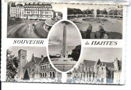 NANTES - Carte Multivues - Années 50 - REMA N° 2527 - VENTE DIRECTE X - Nantes