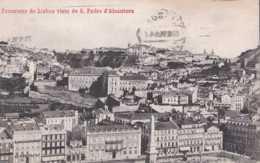 Portugal - Lisbonne - Panaorama De Lisboa Visto De S Pedro D'Alcantara - Circulé En 1909 - TBE - Lisboa