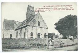 50 - MONTFARVILLE  - L'Eglise Et Son Clocher - CPA - Autres Communes