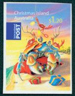 CHRISTMAS ISLANDNoël 08 Homard 1v Adh.de Carnet Neuf ** MNH - Christmas Island