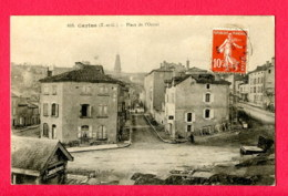 CPA (Réf : Y490) CAYLUS (82 TARN-et-GARONNE) Place De L'Octroi - Caylus