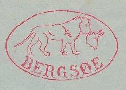 Meter Cover Denmark 1949 Lion With Prey - Non Classificati