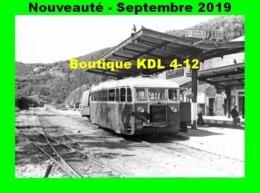 AL 592 - Autorail De Dion Bouton ND N° 201 - SAINTE-CECILE D'ANDORGE - Gard - CFD Lozère - Trains