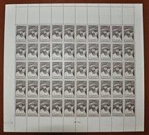 Feuille Complète De 50 Timbres - AUGUSTE PAVIE 4,50F - Feuilles Complètes