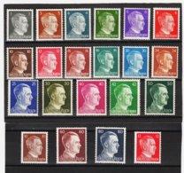 EBA639 DEUTSCHES REICH 1941 MICHL 781/98 ** Postfrisch Siehe ABBILDUNG - Deutschland