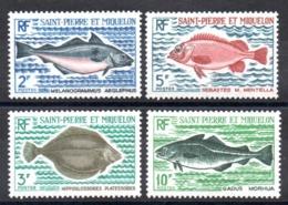 S.P.M. - YT N° 421 à 424 - Neufs ** - MNH - Cote: 36,00 € - St.Pierre Et Miquelon