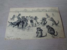Illustrateur ( 1363 )  Louis Wain   Chats   Chat   Katten   Kat - Wain, Louis