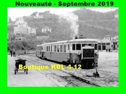 AL 587 - Autorail Billard A 210 D N° 101 - BASTIA - Haute-Corse - CFC - Eisenbahnen