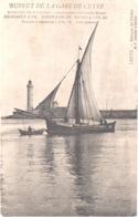 FR34 CETTE - Bf Chalon - Précurseur - Barque De Pêche - Pub Buffet De La Gare - Animée - Belle - Sete (Cette)