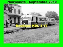 AL 588 - Autorail Billard A 150 D 6 N° 524 - L'ILE-ROUSSE - Haute-Corse - CFC - Trains