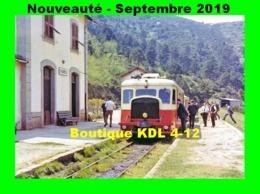 AL 590 - Autorail Billard A 150 D 6 - VIVARIO - Haute-Corse - CFC - Eisenbahnen