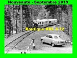 AL 591 - Autorail Billard A 150 D 6 Au PN De La RN 193 - Vizzavona Commune VIVARIO - Haute-Corse - Trains