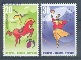 Cyprus (Republic) 2002 Mi 990-991 MNH ( ZE2 CYP990-991 ) - Europa-CEPT