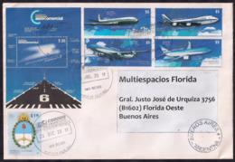 Argentina - 2018 - Lettre - L'aviation Commerciale - Lettres & Documents