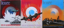 Ww2 Icare N°80-97-94 1939-40 La Bataille De France L'Aviation D'assaut Volume X-XI-XII 51 Et 54 Escadre SUPERBES A VOIR - Aviation