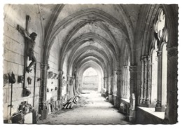 Cpsm 79 Saint-Jouin-de-Marnes - L'église Abbatiale - Le Cloître XVe Siècle - Saint Jouin De Marnes