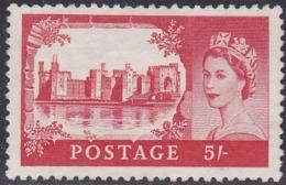Great Britain, Scott #372, Mint No Gum, Elizabeth II And Castle, Issued 1959 - 1952-.... (Elizabeth II)