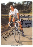Philippe Gilbert - Signée - Radsport