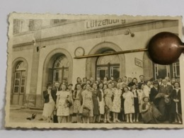 Photo Original, Gare Lutzelburg  9x6 - Frankrijk