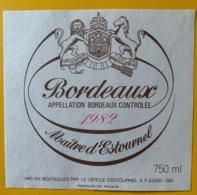 11626 -  Maître D'Estournel 1982 - Bordeaux