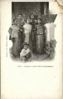 Indochina, LAOS, Femmes Et Jeunes Filles De Savannakhet, Girls (1899) Postcard - Laos