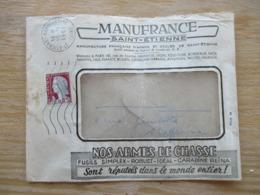0,25 Fr Sur Env Manufrance St Etienne 1961 - Marcophilie (Lettres)