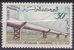 Timbre Neuf ** N° 485(Yvert) Tunisie 1959 - Vallée De La Medjerda - Tunisie (1956-...)