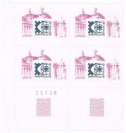 Bloque De 4 Viñetas PARIS 1975. Exposicion Filatelica ARPHILA 75. Label, Cinderella ** - Erinofilia