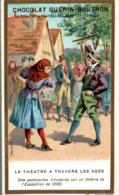 CHROMO CHOCOLAT GUERIN BOUTRON LE THEATRE A TRAVERS LES AGES PANTOMINE IRLANDAISE - Guérin-Boutron