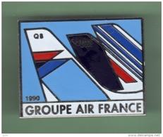 AIR FRANCE - UTA *** GROUPE AIR FRANCE 1990 *** 1051 - Avions