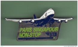 AIR FRANCE - UTA *** PARIS SINGAPOUR NON-STOP *** 1051 - Avions