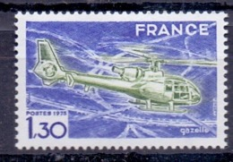 1975 France A Helicopter 1 Value S.G. No 2082 MNH - Airmail