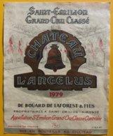 11634 -  Château L'Angelus 1979 Saint-Emilion - Bordeaux