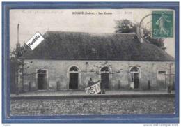 Carte Postale 36. Sougé  Les écoles Porte-Drapeau Trés Beau Plan - Otros Municipios
