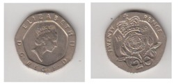 GRANDE BRETAGNE - 20 PENCE 1989 - 20 Pence