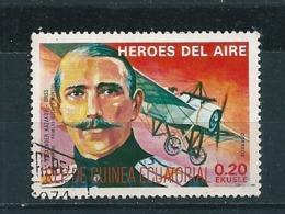 N° 102 D Heroes Del Aire Alexander Kasakov Timbre Guinée Equatoriale (1974) Oblitéré - Guinée Equatoriale