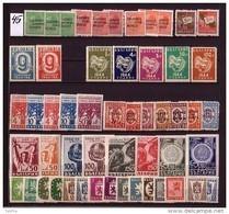 BULGARIA \ BULGARIE - 1945 - Annee Complete** Yv.428/458; TG 1/16 Sans Bl. - Années Complètes