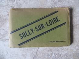 45 Sully Sur Loire  - Album Souvenir 10 CPA Vues Détachables Ancien  - Divers Aspect De La Ville  Ed Lenormanrd  Orléans - Sully Sur Loire
